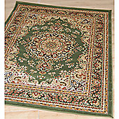 Origin Red Classique Light Green Rug - Runner 230cm x 80cm