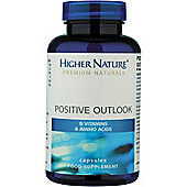 Higher Nature Positive Outlook Mood Balancer 90 Veg Capsules