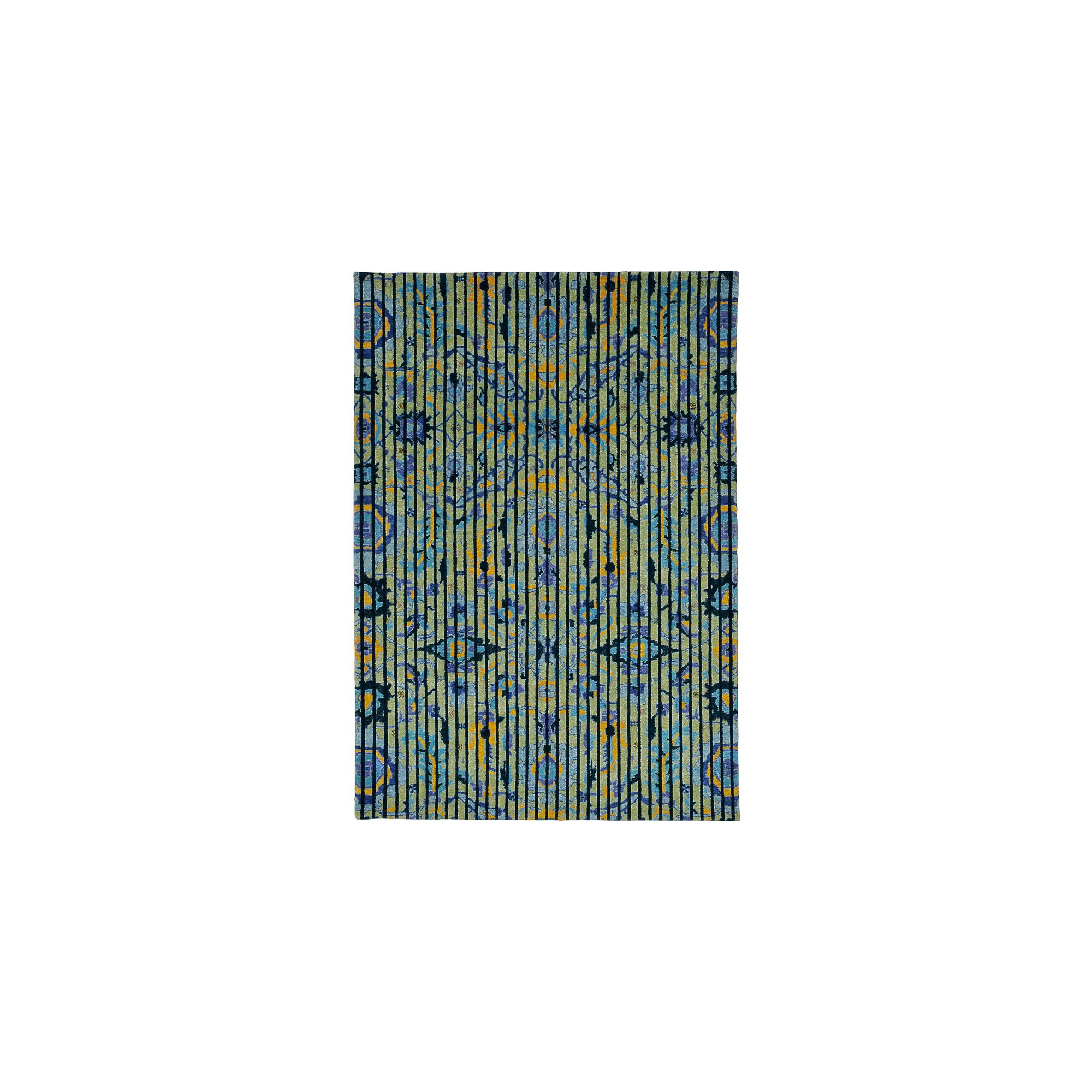 I + I Editions Persian Lines II Knotted Rug - 240cm x 170cm at Tesco Direct