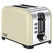 Russell Hobbs Henley 23533 2 Slice Toaster - Cream
