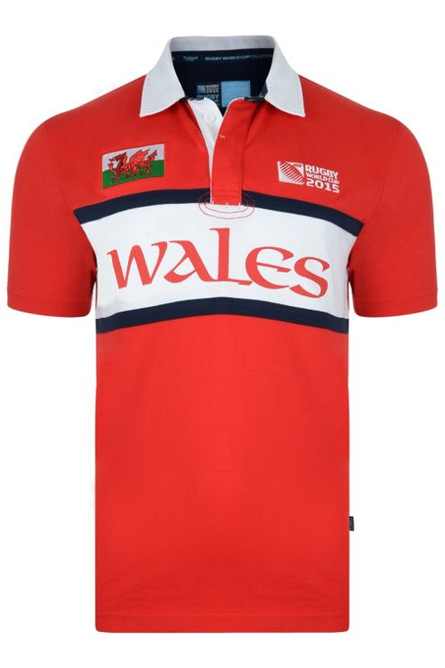Wales Rugby Jersey - Red