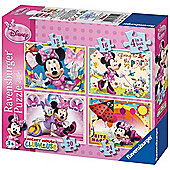 Disney Minnie Mouse 4 In A Box - Ravensburger