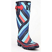 Evercreatures Ladies Wellies Red Lining Foxing Lines 8