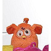 Furby 7cm Keychain - Plush, No Sound - Orange