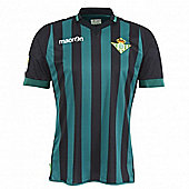 2013-14 Real Betis Away Macron Football Shirt - Black