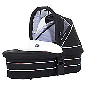 ABC Design Carry Cot, White/Black