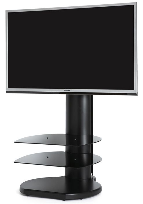 Cantilever TV Stand - Origin II S3A TV Stand In Black