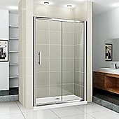 Blue Bear Direct AquaSpa Deluxe Sliding Door - 185 cm H x 100 cm W
