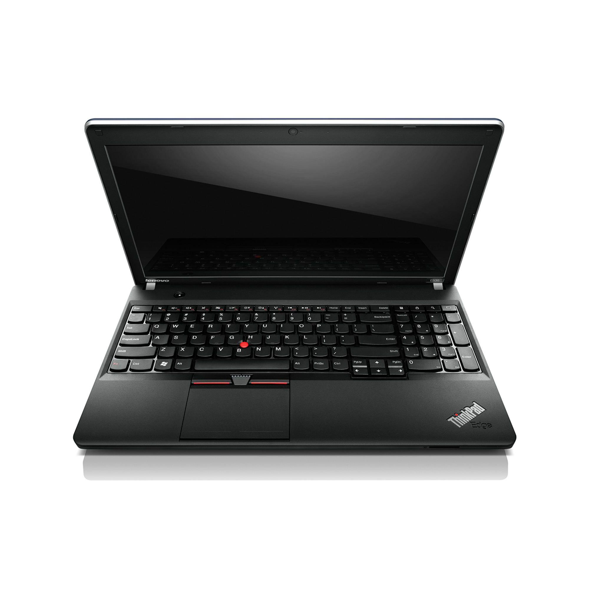 Lenovo ThinkPad Edge E535 3260ECG (15.6 inch) Notebook AMD A6 (4400M) 2.7GHz 4GB 500GB DVD±RW WLAN BT Webcam Windows 7 Pro 64-bit/Windows 8 Pro at Tescos Direct