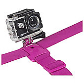 KitVision Action Cam / GoPro Head Strap, Pink