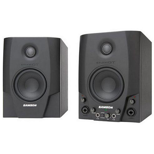 Samson Studio GT Monitors W/Audio I/O (pair)