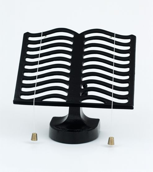 Cast Iron Cook Book Stand - Black