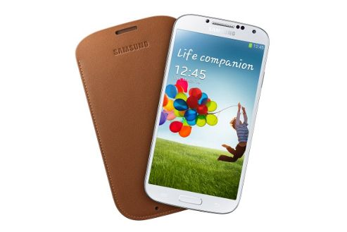 Samsung Original Protective Pouch for Samsung Galaxy S4 - Camel