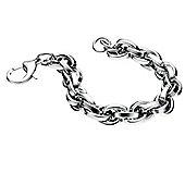 Mens Fred Bennett Heavy Link Steel Bracelet