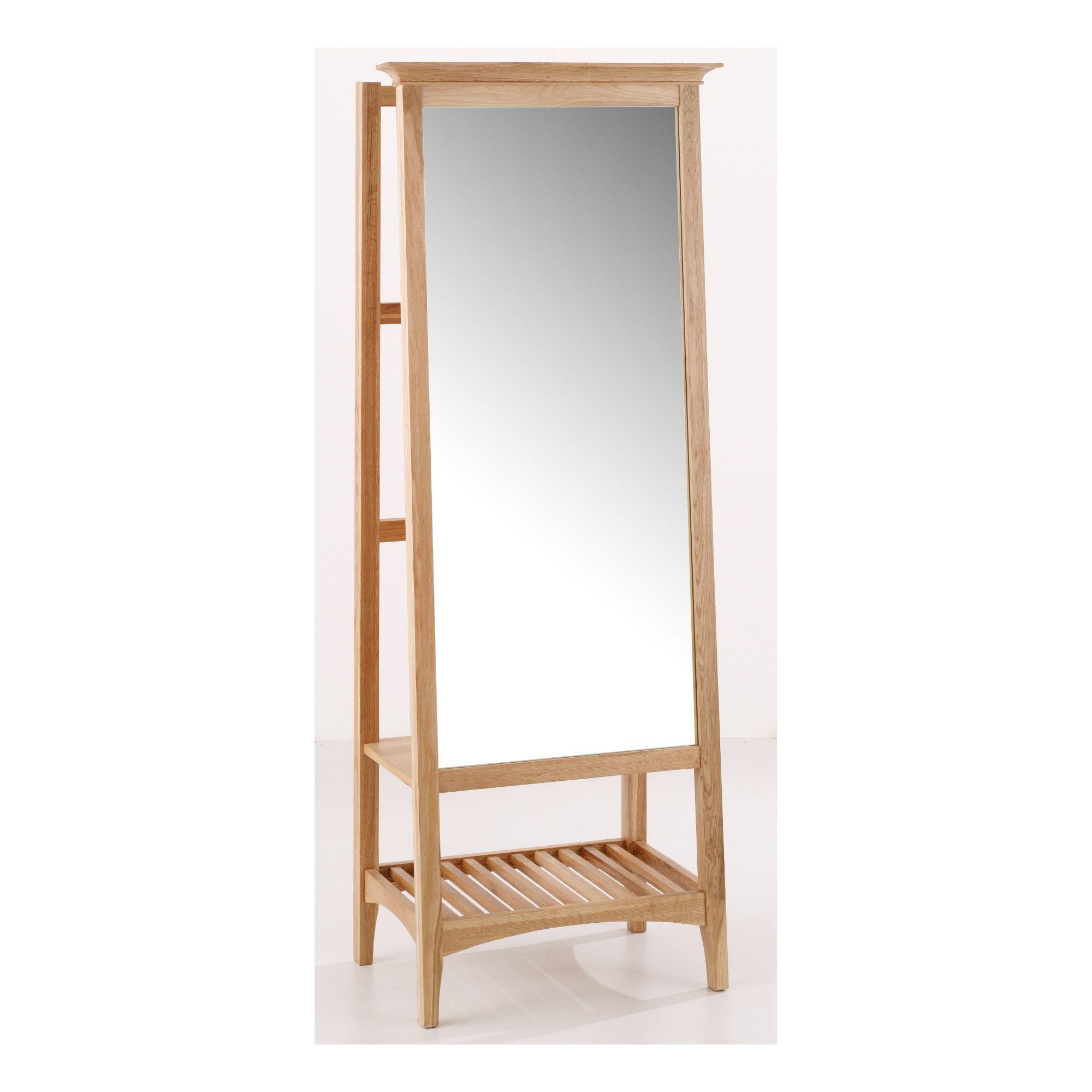 Originals Hudson Bedroom Cheval Dressing Mirror at Tesco Direct