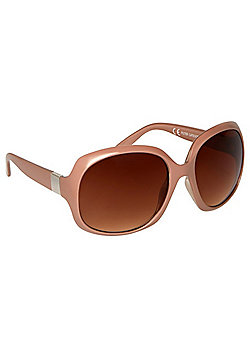 F&F Gold Trim Oversized Sunglasses
