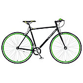 2014 Viking Ronin 59cm Single Speed Fixie Fixed Gear Bike Black