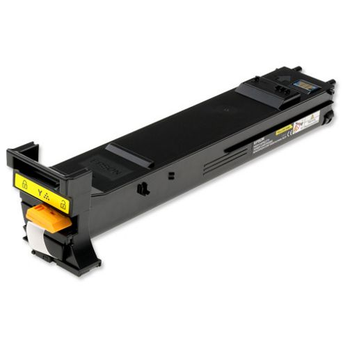 Epson Yellow High Capacity Toner Cartridge (Yield 8,000 Pages) for AcuLaser CX28DN Series Multifunction Laser Printers