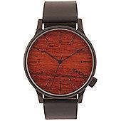 Komono Winston Black Wood Watch - KOM-W2020