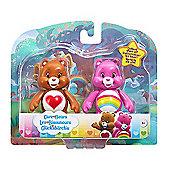 Care Bears Figure Twin Pack - Cheer Bear & Tenderheart Bear