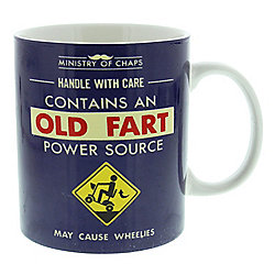 Ministry of Chaps Old Fart Mug