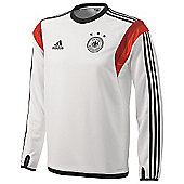 2014-15 Germany Adidas Training Top (White) - White