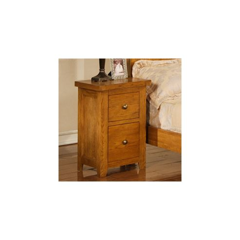 Elements Chateau 2 Drawer Bedside Cabinet