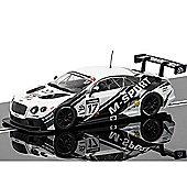 Scalextric Slot Car C3595 Bentley Continental Gt3 - Pcr