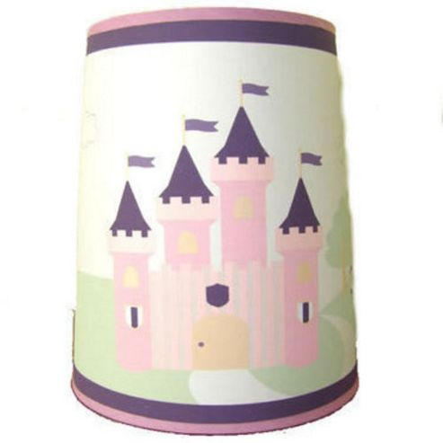 buy princess castle light shade from our table lamp shades. Black Bedroom Furniture Sets. Home Design Ideas