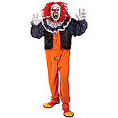 Pennywise Horror Clown Halloween Costume