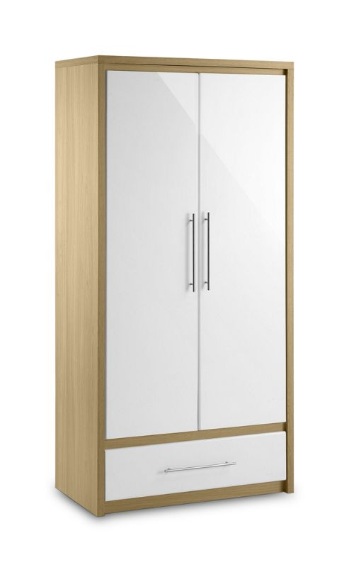 Julian Bowen Stockholm Combination Wardrobe in oak