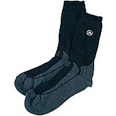 John Letters Mens Cushion Socks (3 Pack) - Black