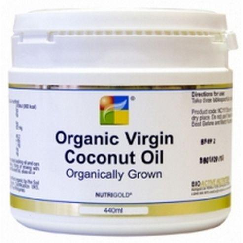 Nutrigold Coconut Oil - Organic Virgin 440ml Liquid