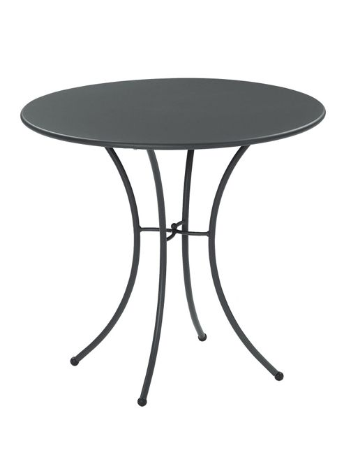 emu Pigalle 80cm Round Table - Indian Brown