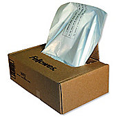 Fellowes Shredder Bags Capacity 148 Litre [for C-380 C-480 Series] Ref 36055 [Pack 50]