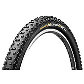 Continental Mountain King II Protection Black Chili Folding Tyre in Black - 26 x 2.4