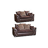 Rio 3 +2 Seater Sofa Set