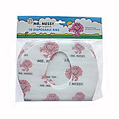 Mr Men Mr Messy Disposable Bibs Pack of 10