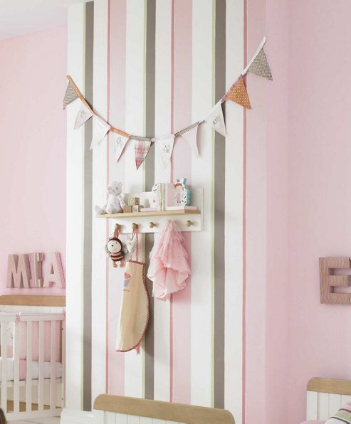 Mamas & Papas - Scrapbook Girls - Wallpaper