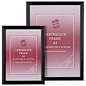 Picture or Certificate Wooden Frame A3 Black PAWFA3BBLK