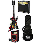 Paper Jamz Pro Guitar, Amp, Microphone and Gig Bag Value Pack