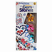 The Entertainer Stick-On Gem Stones