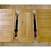 Mark Harris Furniture Avignon Solid Oak Extending Dining Table - 200 cm