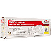 OKI Toner Cartridge for C5850/C5950 Colour Printers (Yellow)