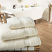 Luxury 600gsm Supreme 100% Egyptian Cotton Towel - Cream