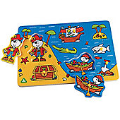 ELC Pirate Lift Out Puzzle