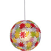 Naeve Leuchten Young Living 1 Light Pendant in Multicolour