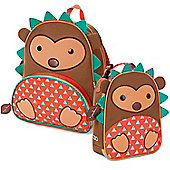 Skip Hop Children's Zoo Pack Backpack & Lunchie Lunch Bag Combo - Hedgehog
