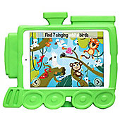 Kids Shock Proof Green Timmy Train Case For The iPad Mini 3 / 2 / 1