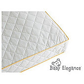 Baby Elegance Health Guard Pocket Spring Mattress - Cot